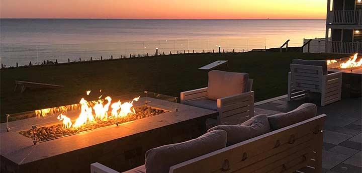 Fireput at teh Pelham House Resort